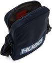 Hugo Navy Nylon Reporter Bag