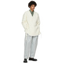 Dunhill Off-White Chunky Wrap Cardigan