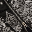 Sacai - Printed Cotton-Canvas and Matte-Satin Jacket - Men - Black
