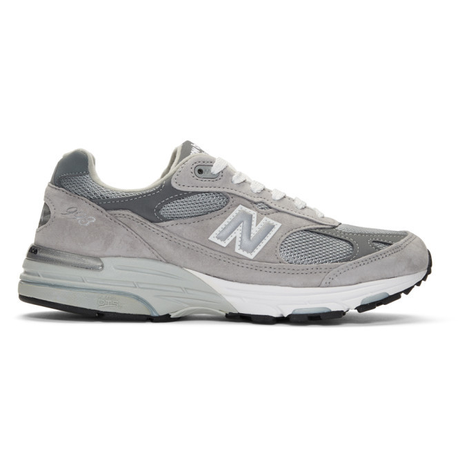 Photo: New Balance Grey US Made MR993GL Sneakers
