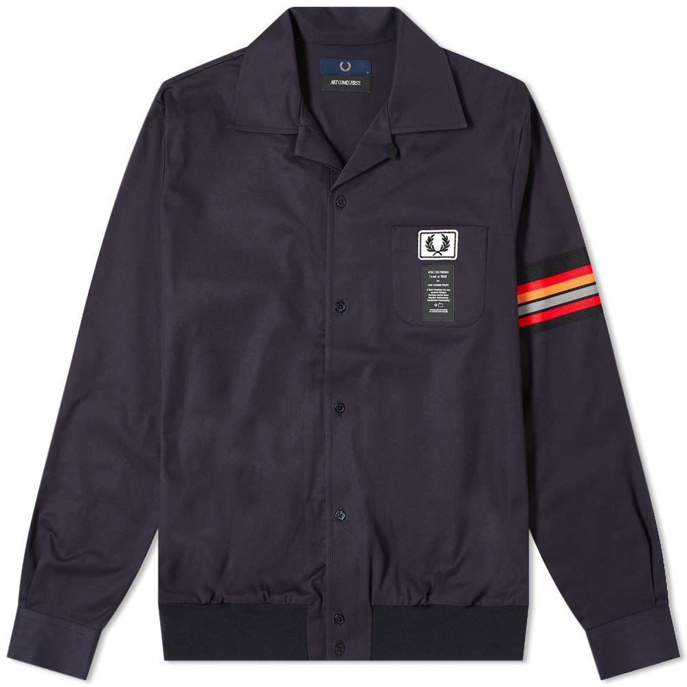 Photo: Fred Perry x Art Comes First Taped Sleeve Jacket