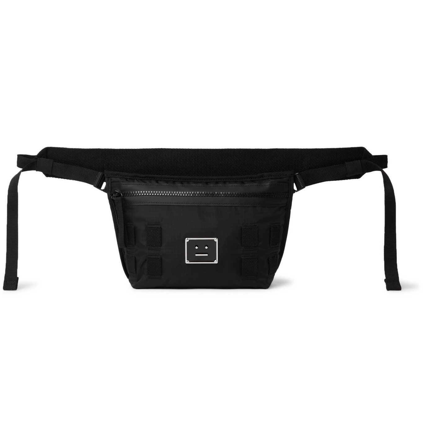 Photo: Acne Studios - Logo-Appliquéd Ripstop Messenger Bag - Black