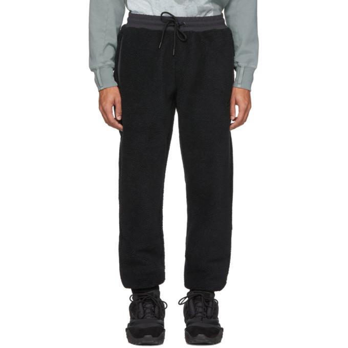Photo: Li-Ning Black Fleece Jogger Lounge Pants