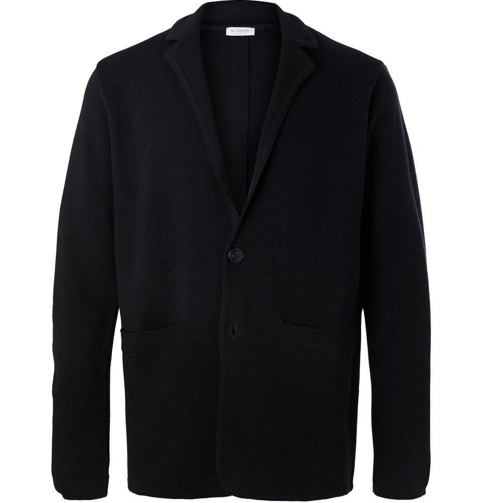 Sunspel - Navy Milano Merino Wool Blazer - Men - Navy