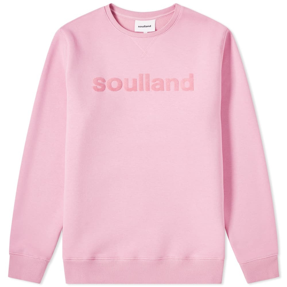 Photo: Soulland Logic Logo Crew Sweat