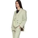Aries Beige Gabardine Suit Blazer