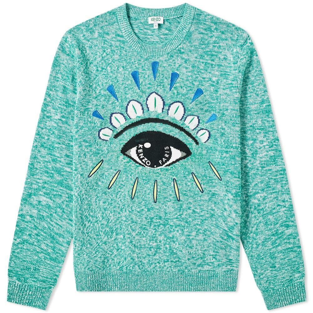 Photo: Kenzo Eye Crew Knit Green