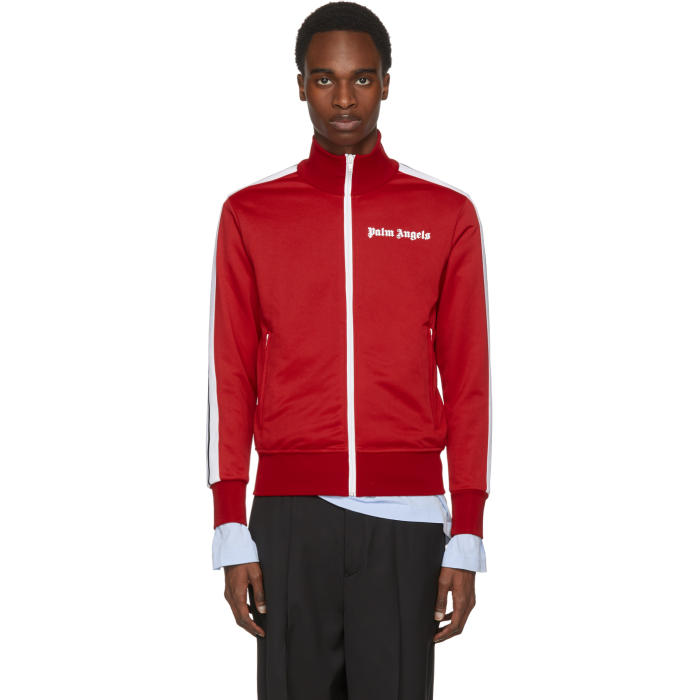 Photo: Palm Angels Red Track Jacket