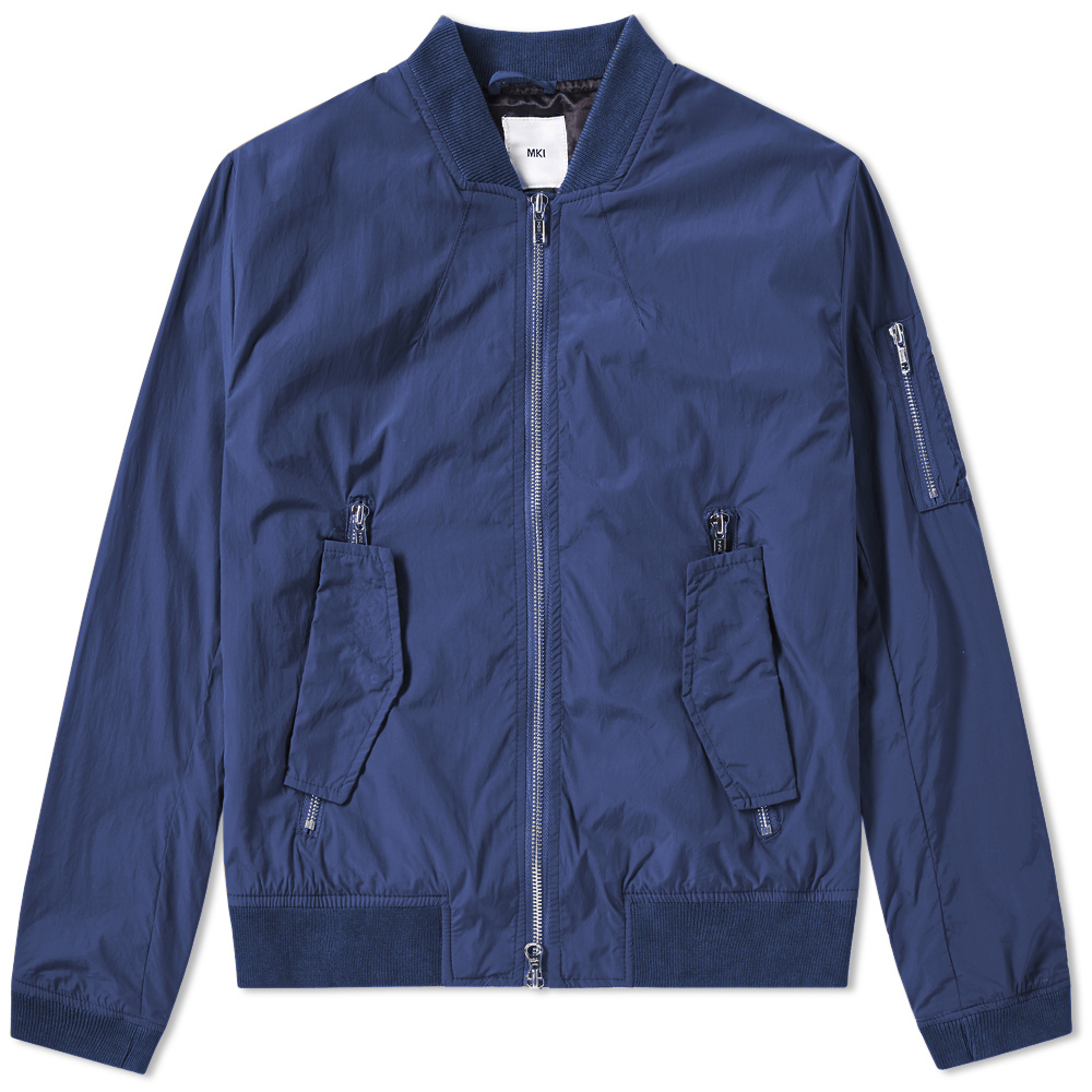 Photo: MKI Taslon Nylon Bomber Jacket