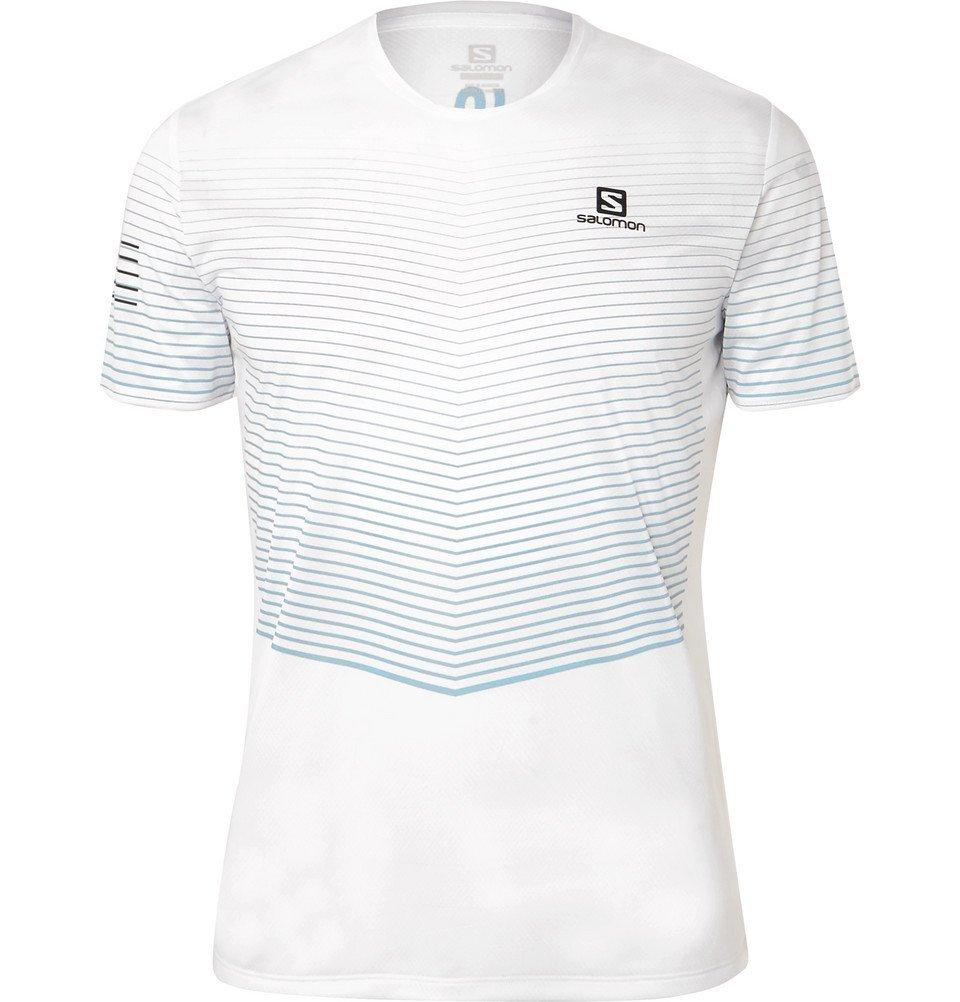 Photo: Salomon - Sense Jersey Running Top - White