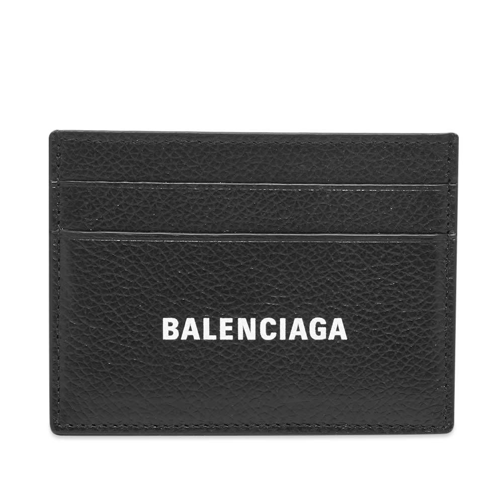 Photo: Balenciaga Logo Card Holder