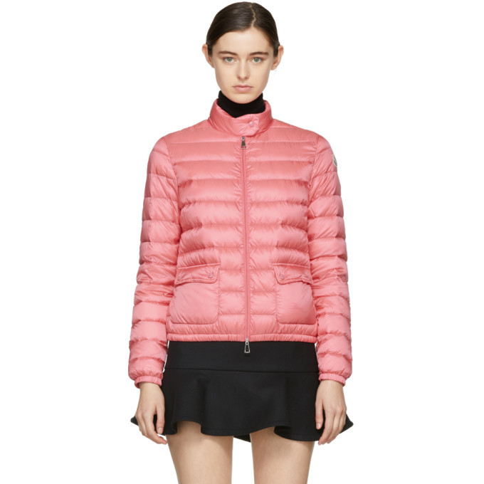 Photo: Moncler Pink Down Lans Jacket