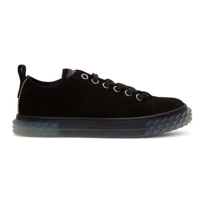 Photo: Giuseppe Zanotti Black Blabber Jellyfish Sneakers