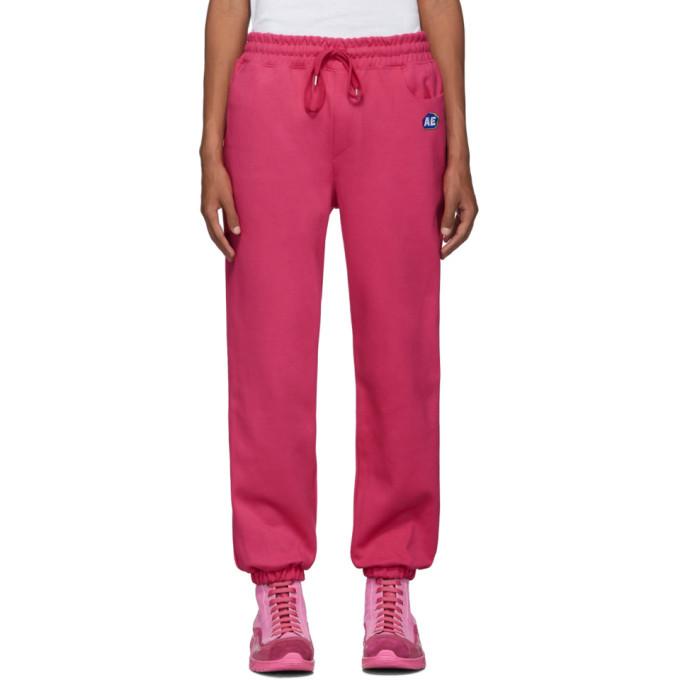 Photo: ADER error Pink Stone Logo Track Pants