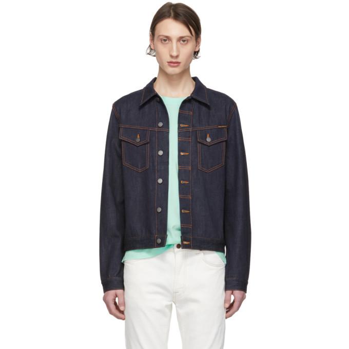 Photo: Nudie Jeans Blue Denim Kenny Dry Jacket