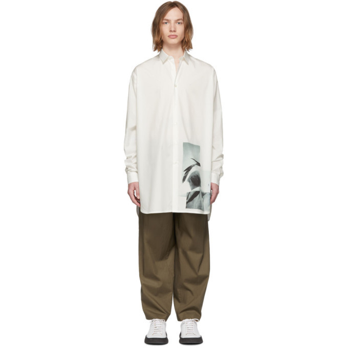 Photo: Jil Sander White Seal Shirt
