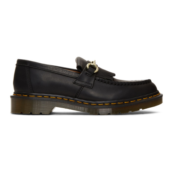 Photo: Dr. Martens Black United Arrows Edition Snaffle Loafers