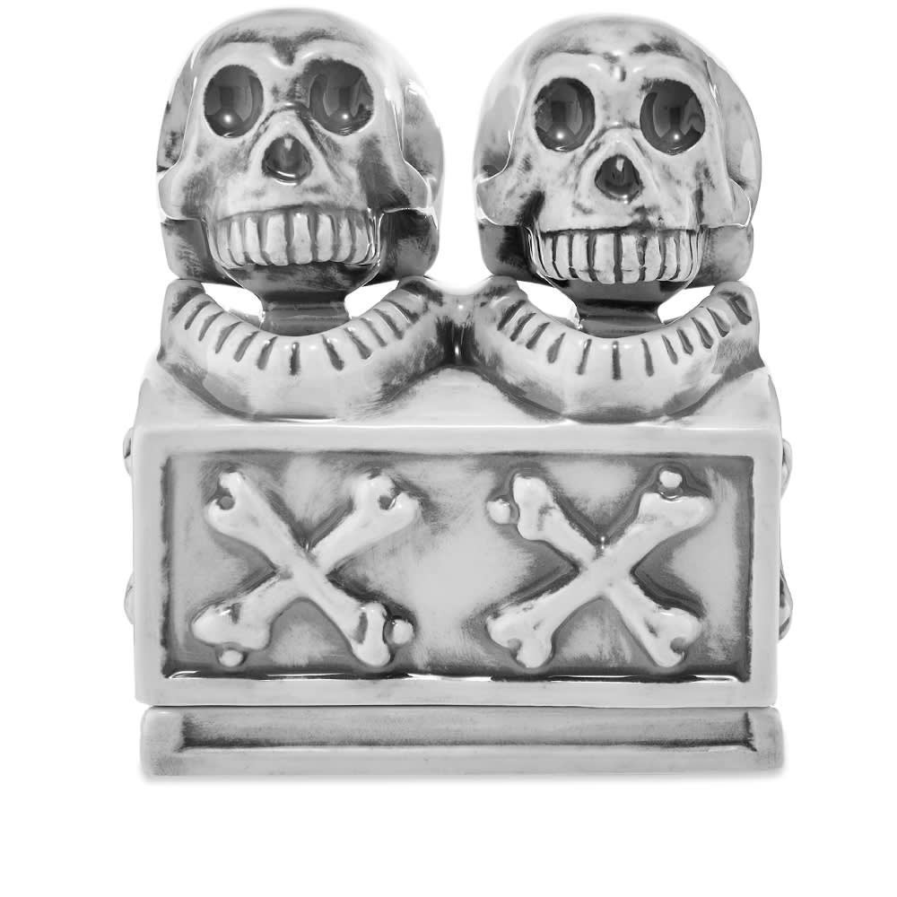 Photo: Neighborhood Booze Dual Skull Incense Chamber