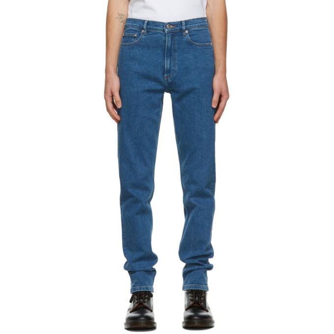 Photo: A.P.C. Indigo Middle Standard Jeans