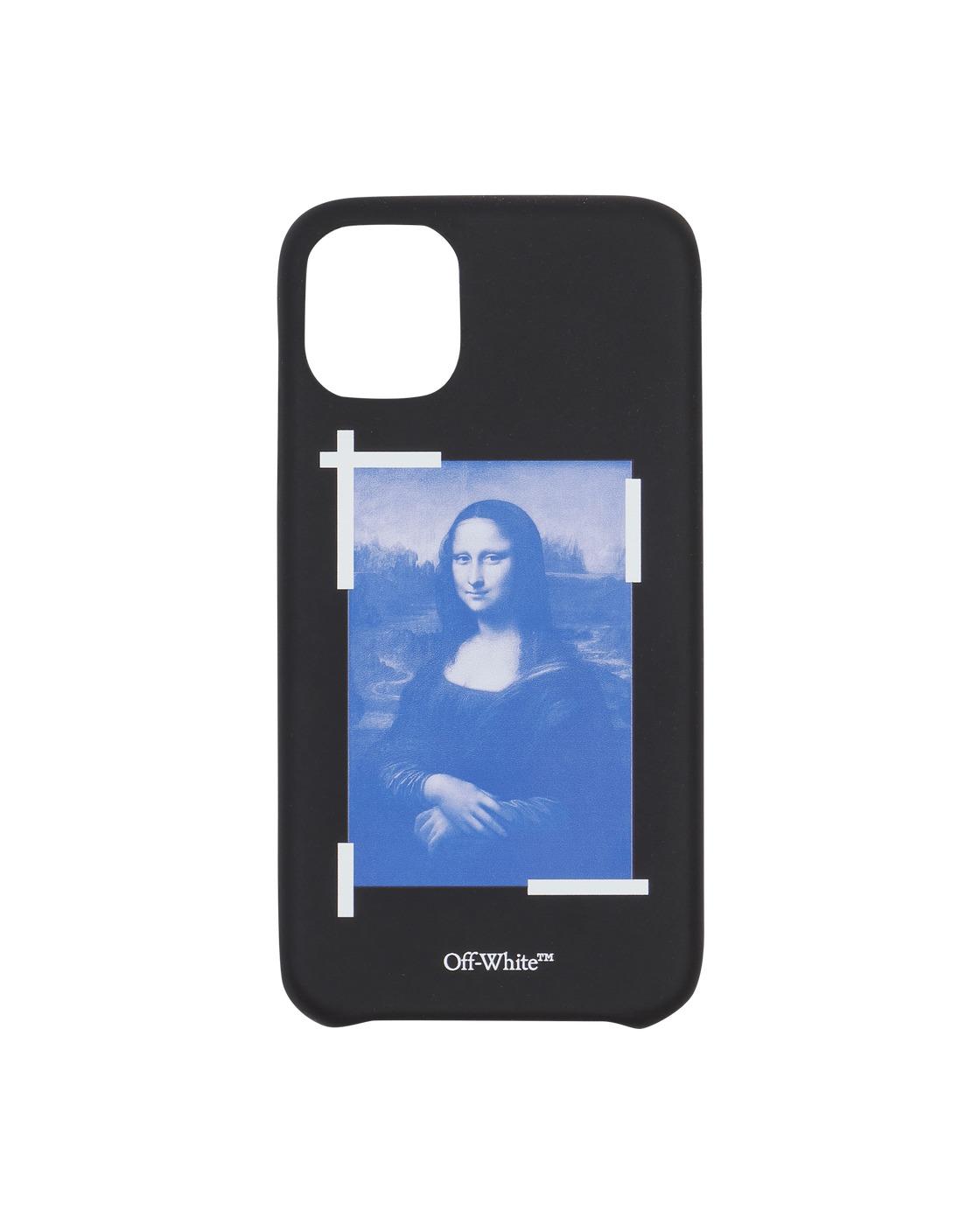 Photo: Off White Monalisa Iphone 11 Case Black/White