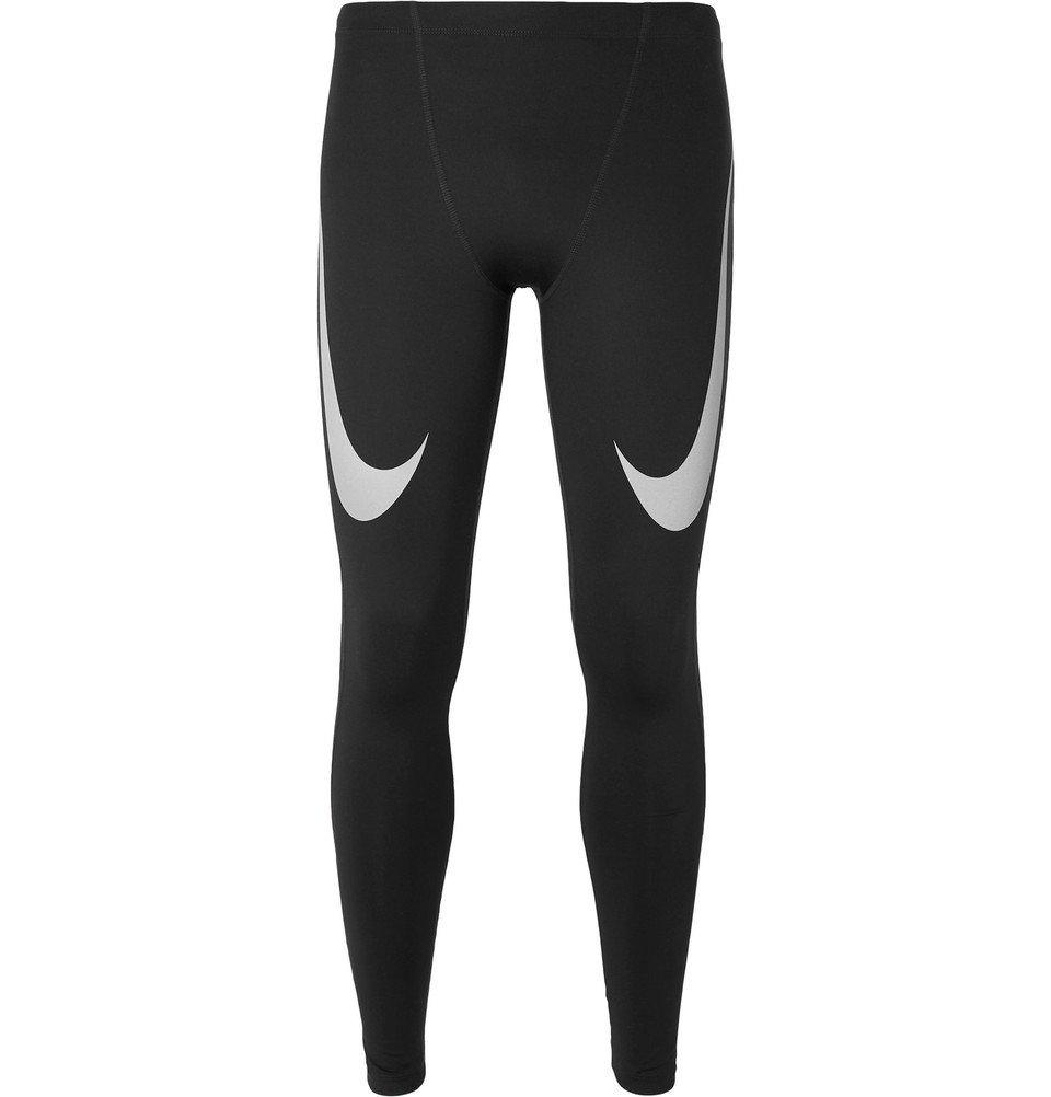 Nike Running - Dri-FIT Tights - Men - Black