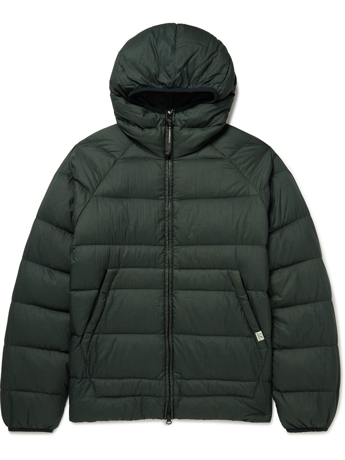 Photo: C.P. Company - Hooded Quilted Shell Down Jacket - Gray