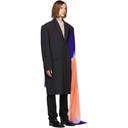 Raf Simons Grey Classic Big Zippered Coat