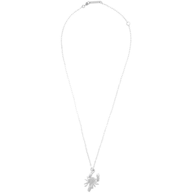 Photo: Ambush Silver Scorpion Charm Necklace