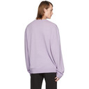 Raf Simons Purple Merino Giordano Bruno Sweater