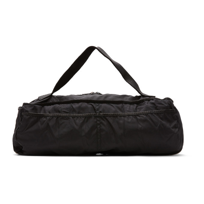Photo: Guidi Black Weekender Expandable Duffle Bag