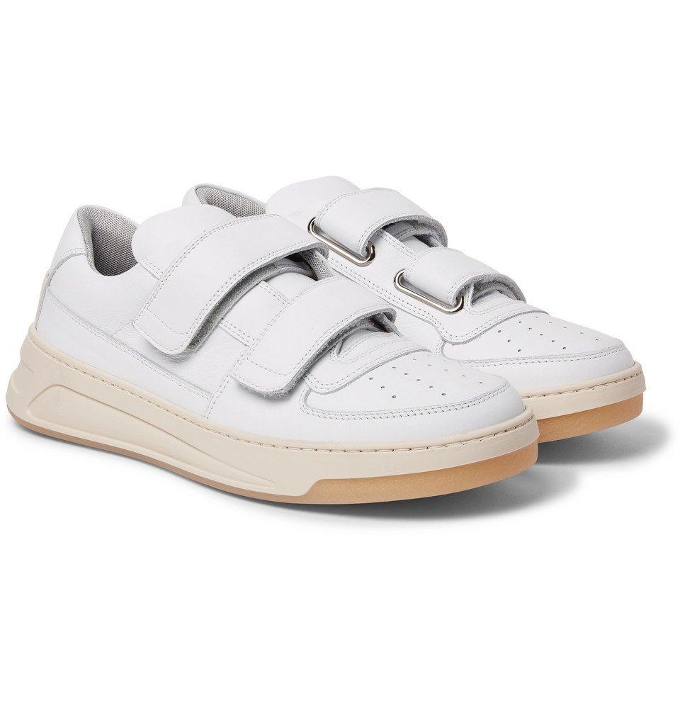 Acne Studios - Perey Leather Sneakers - Men - White