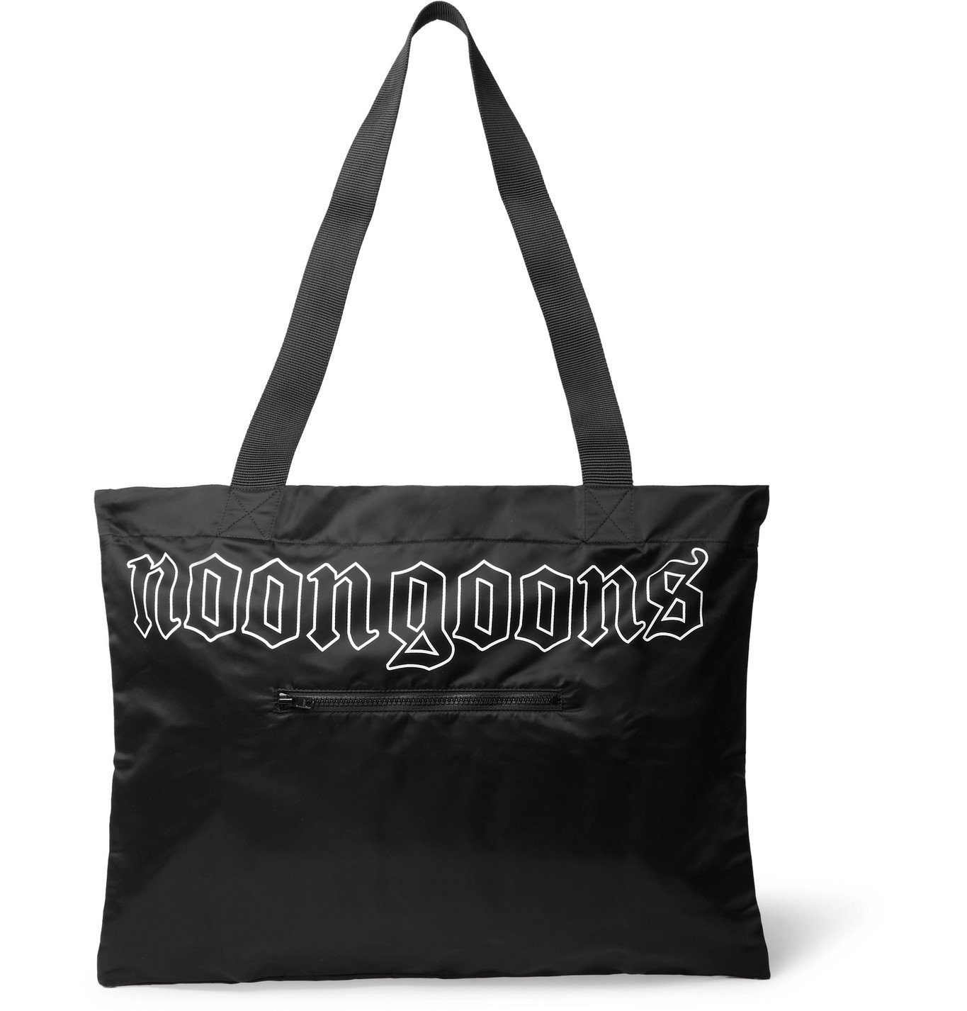 Photo: Noon Goons - Logo-Print Shell Tote Bag - Black