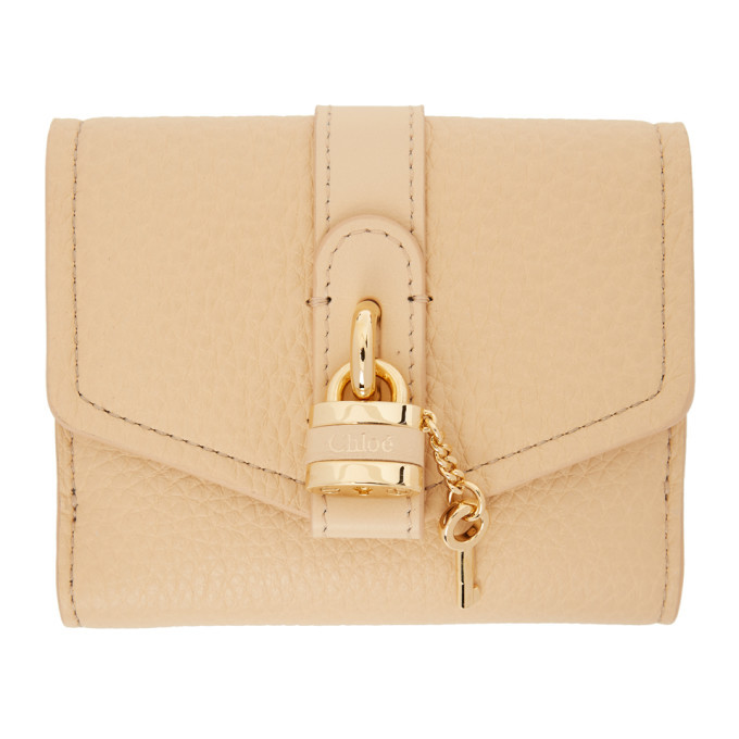 Photo: Chloe Beige Aby Square Wallet