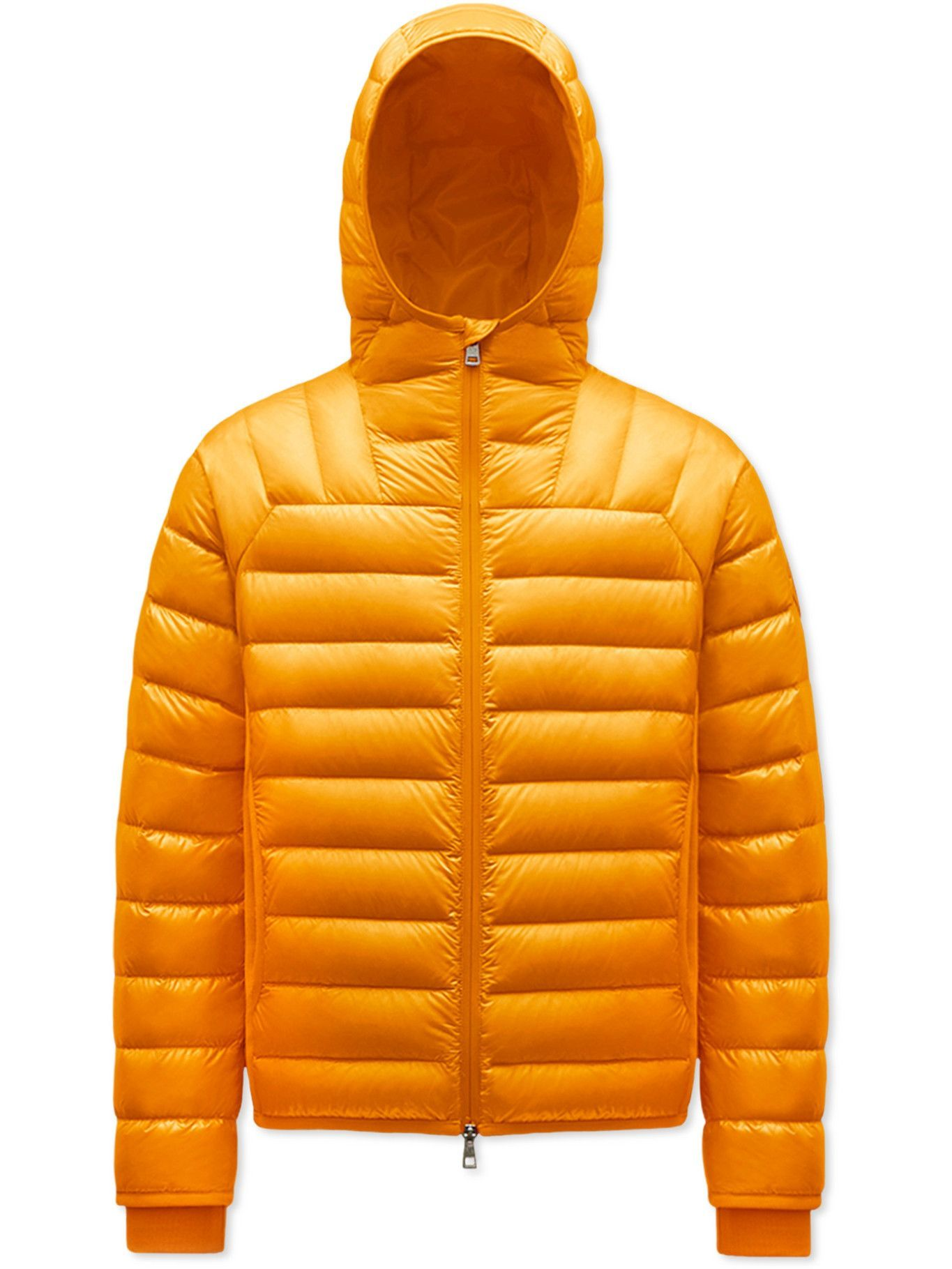 Photo: Moncler Genius - 2 Moncler 1952 Taito Quilted Nylon Hooded Down Jacket - Yellow