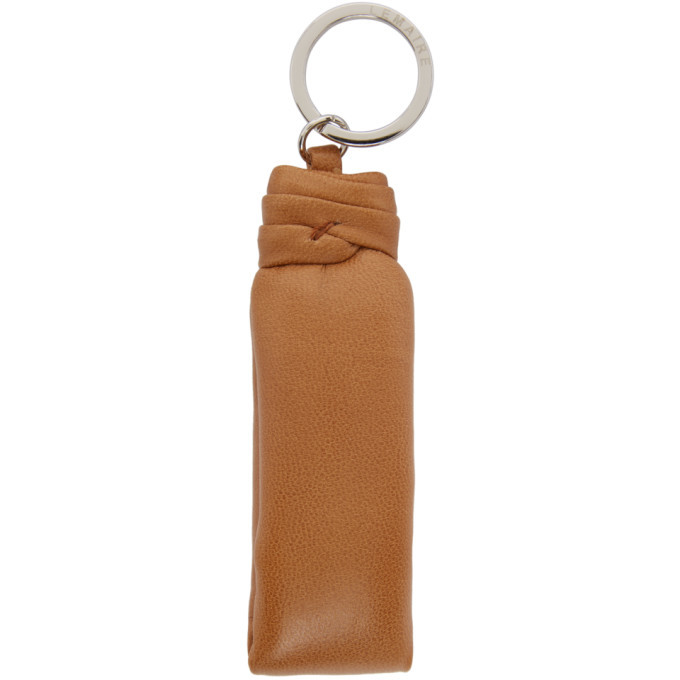 Photo: Lemaire Brown Padded Keychain