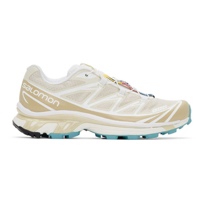 Photo: Salomon Beige Limited Edition XT-6 ADV Sneakers