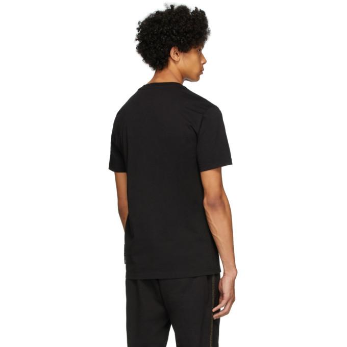 Versace Jeans Couture Black Warranty Label T-Shirt