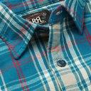 RRL - Matlock Slim-Fit Checked Cotton-Flannel Shirt - Blue