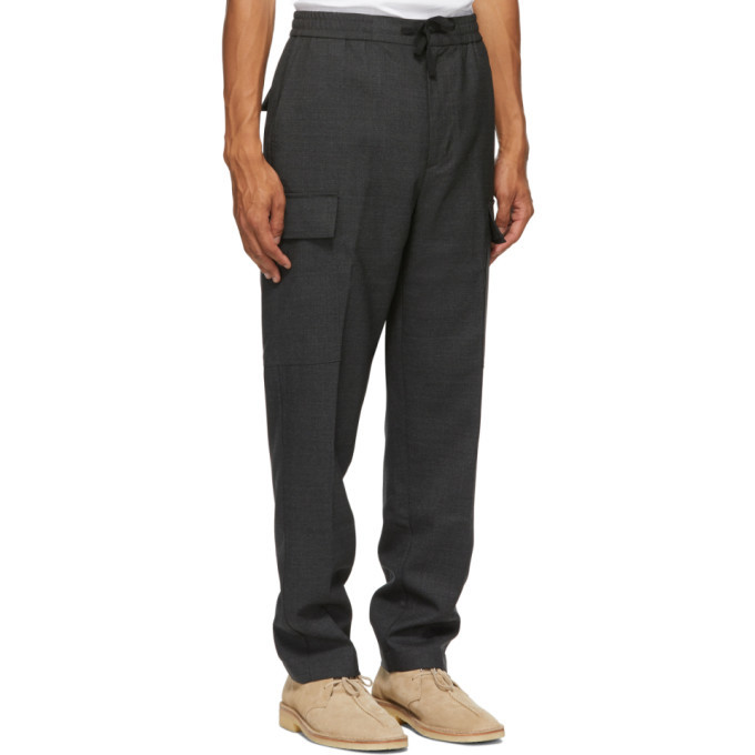 Officine Generale Grey Geron Cargo Pants