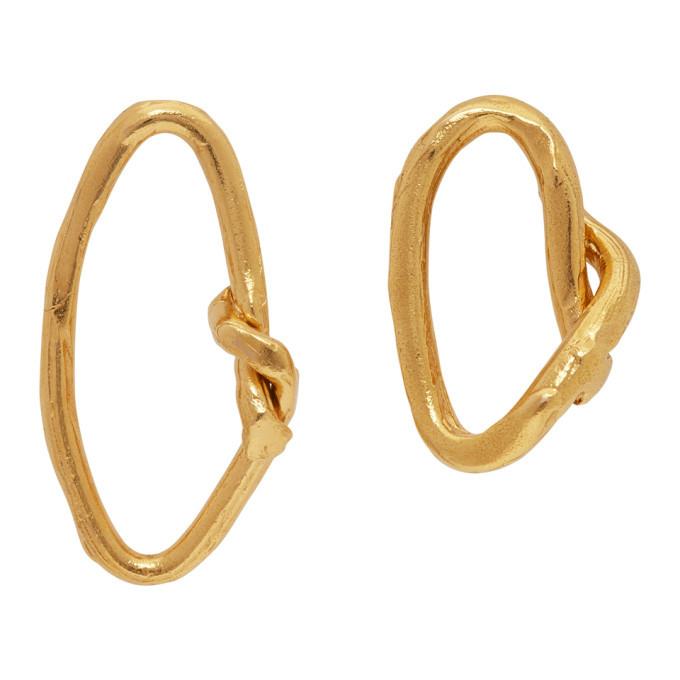 Photo: Alighieri Gold The Wasteland Hoop Earrings