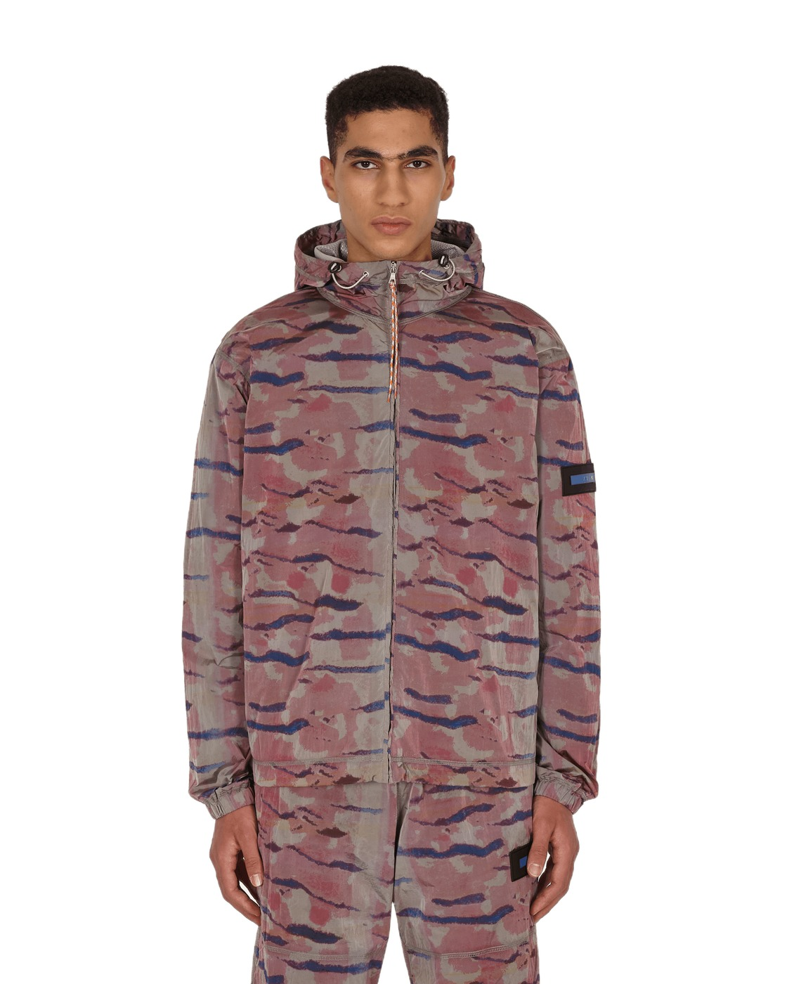 Photo: Aries Tiger Print Windcheater Jacket Pink