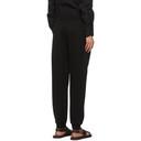 Giorgio Armani Black Double-Fabric Joggers Lounge Pants