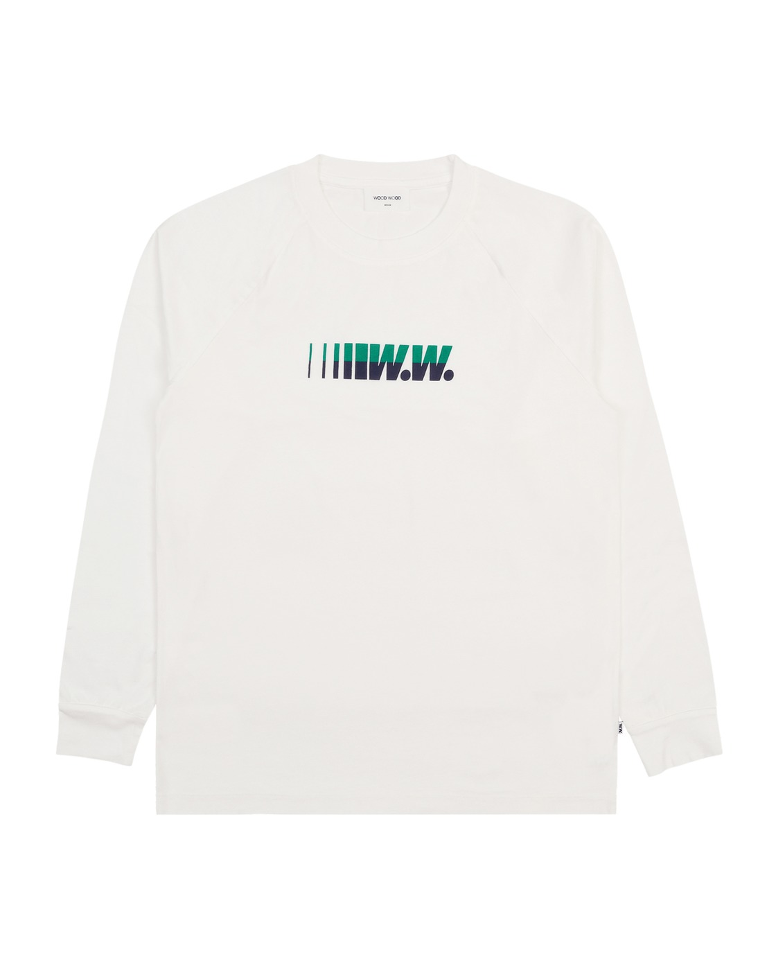 Photo: Wood Wood Han Longsleeve T Shirt White