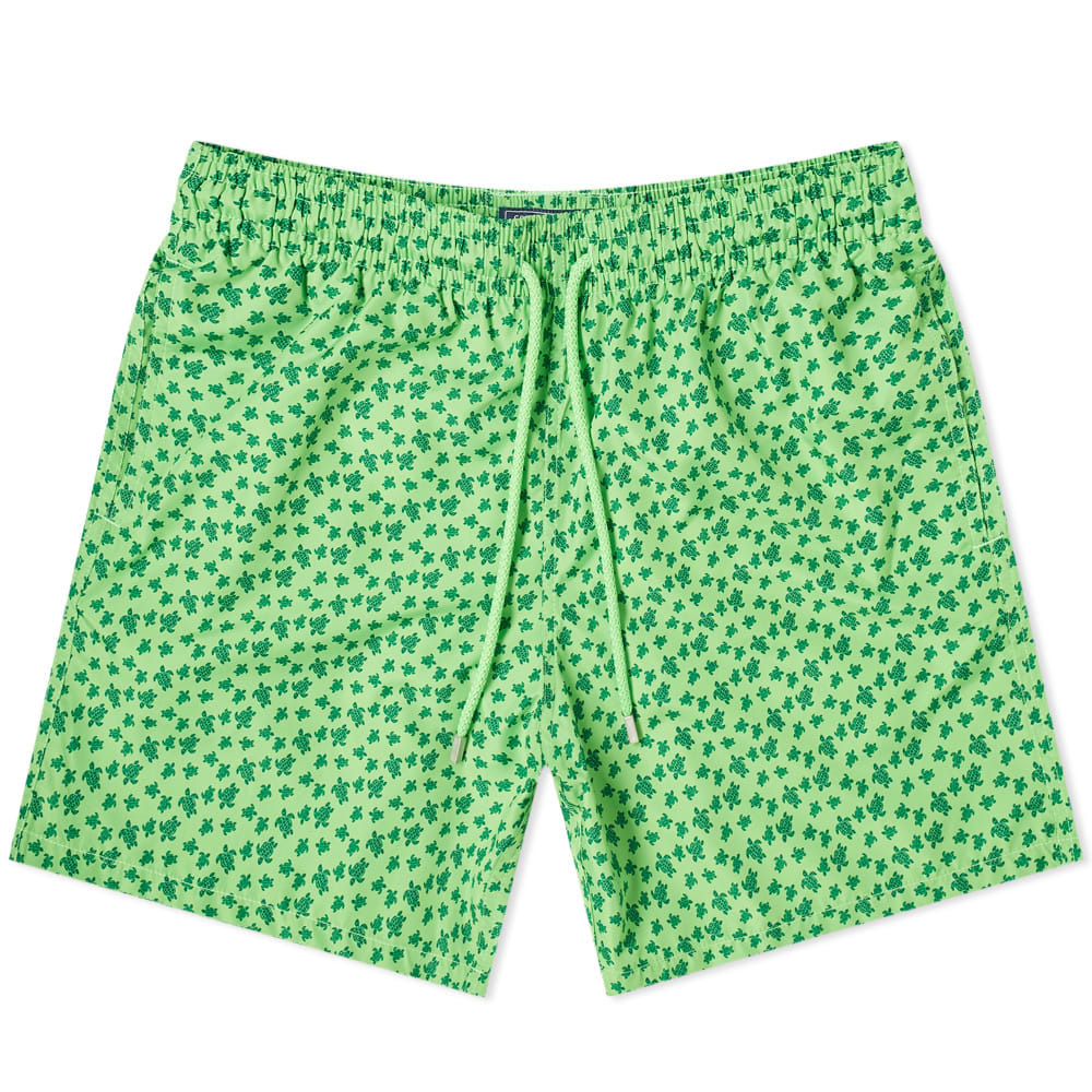 Photo: Vilebrequin Mahina Repeat Print Turtle Swim Short