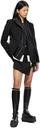 Sacai Black Suiting Miniskirt