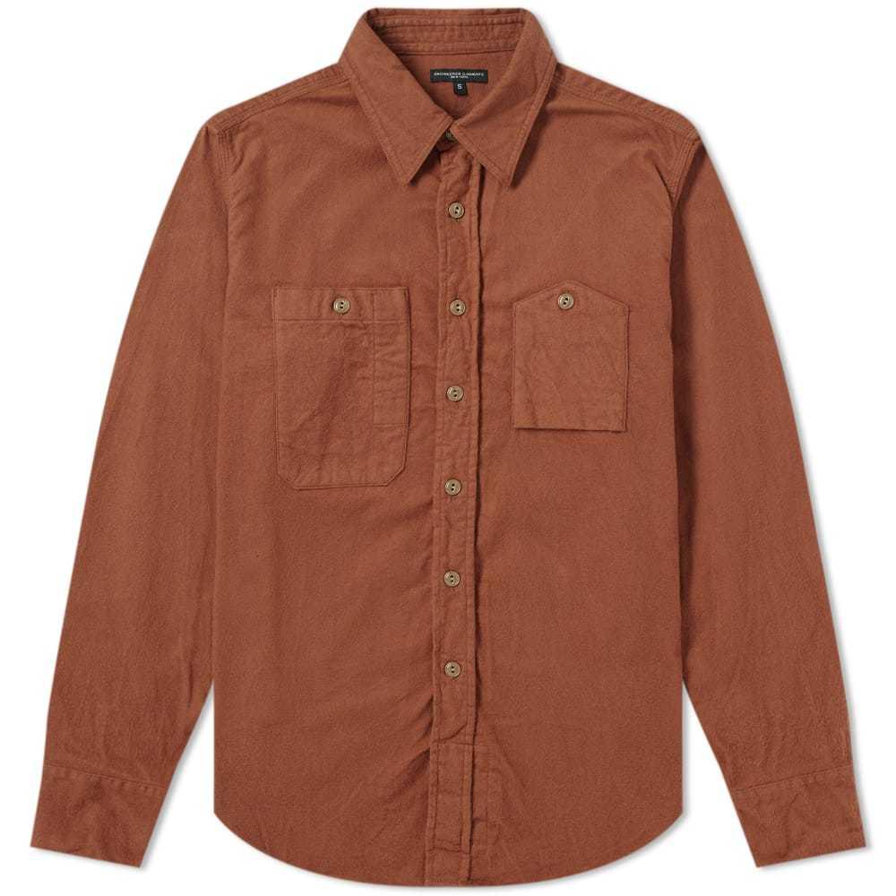 Photo: Engineered Garments Work Shirt Brown