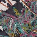 Sacai - SUN SURF Diamond Head Camp-Collar Velvet-Trimmed Printed Voile Shirt - Multi