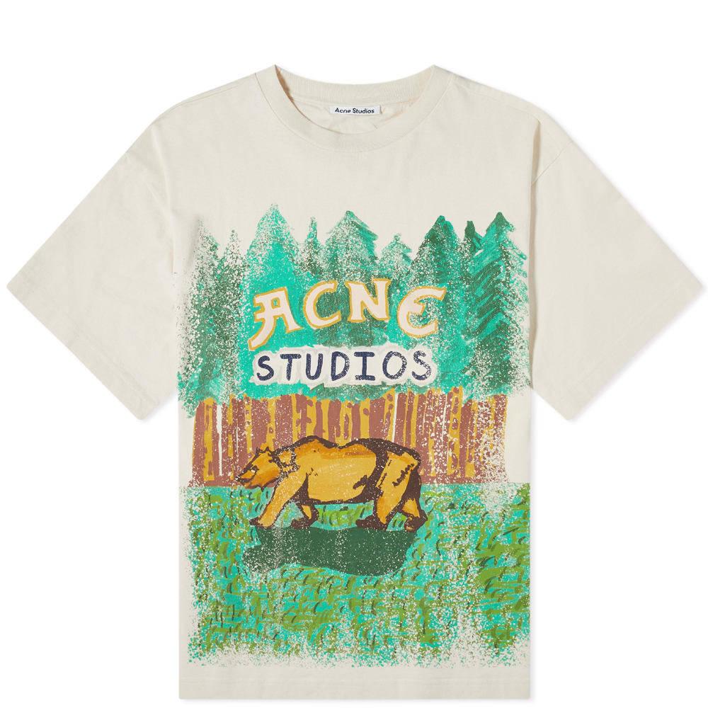 Photo: Acne Studios Illustration Logo Tee