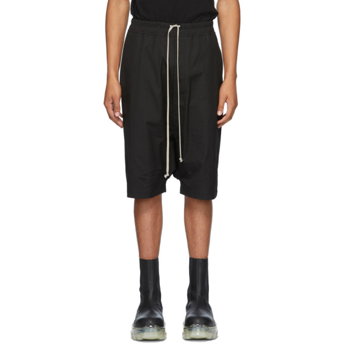 Photo: Rick Owens Black Ricks Shorts