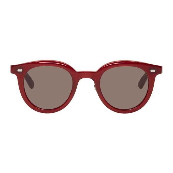Photo: Eyevan 7285 Red 776 Sunglasses